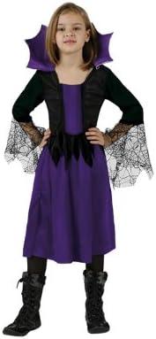 Atosa-98863 Bruja Disfraz Mujer Araña 10-12, color violeta, 10 a ...