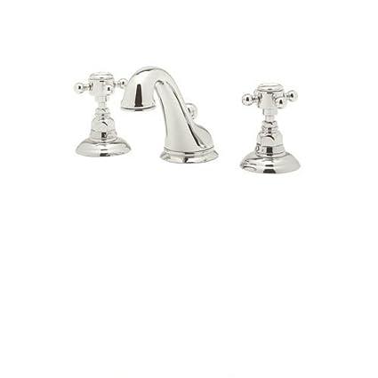 Rohl A1408XMPN-2 Country Bath Viaggio Widespread Lavatory Faucet ...