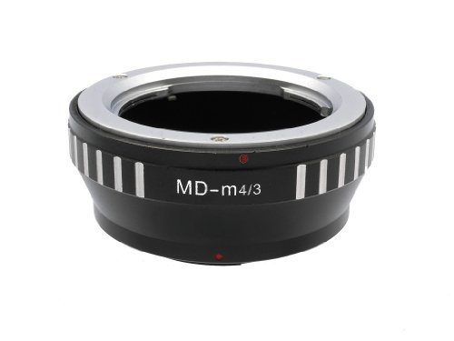 Gadget Place Minolta MD / MC Lens Adapter for Panasonic Lumix DMC-GX8 DMC-G7 DMC-GF7 DMC-GH4 DMC-GM1 DMC-GX7 DMC-G6 DMC-GF6 DMC-GH3 by Gadget Place