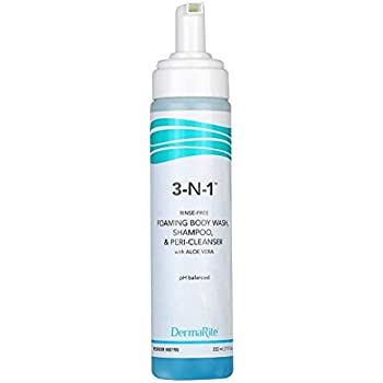 3-N-1 Cleansing Foam, 7.5 fluid oz. Pump Bottles - 12/Case
