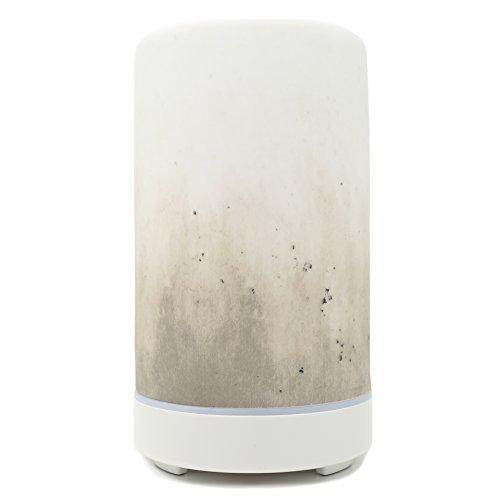 Edens Garden Ultrasonic Ceramic Essential Oil Diffuser For Aromatherapy, Taupe