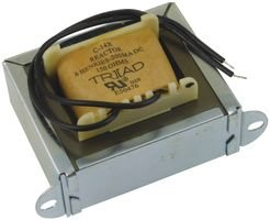 Triad Magnetics C-14X Inductor; Filter; Ind 6H; Tol -20%; +50%; Cur 200mA; Leads; DCR 150 Ohms
