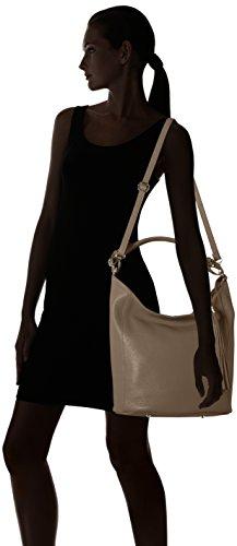 Bags4Less - Zara, Borse a spalla Donna Marrone (Taupe)