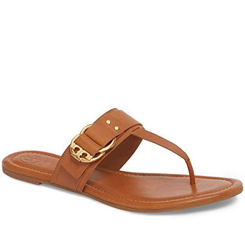ab42ba06c ... Black Leather Miller Logo Size  7.5. Sale Price   181.60. Tory Burch  Marsden Flat Thong Sandal (12 M US