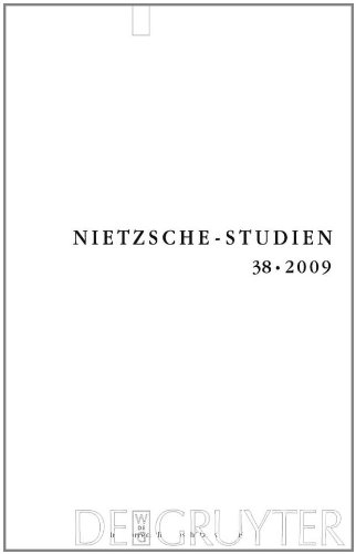 38: Nietzsche-Studien 2009 (German, English and French Edition) by De Gruyter