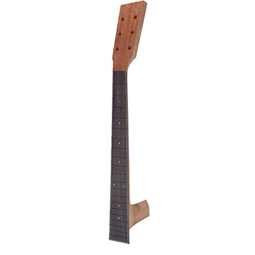 Kmise Acoustic Guitar Neck Fretboard Fingerboard Rosewood for Martin Parts Replacement Unfinished Luthier Diy (Acoustic Guitar Replacement Neck)