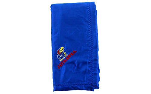 Kansas Jayhawks House (Comfy Feet KANBB - Kansas Jayhawks Baby - Blanket - Officially Licensed - Happy Feet)