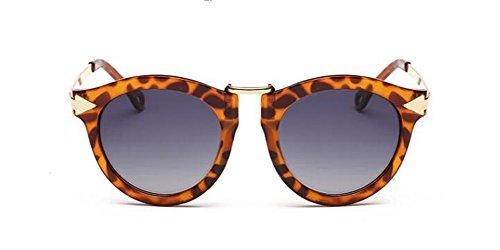 Lennon soleil cercle A Feuille inspirées en retro Dégradé rond vintage lunettes polarisées style de de métallique du H5nOFqw8v