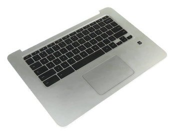New Genuine HP Chromebook 14 G3 Palmrest Assembly with Keyboard and Touchpad 787716-001 788511-001
