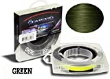 Ohero Adrena-Line Braided Fishing Line 300 Yard Spool (Green, 50 lb)