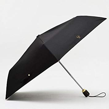 1cf7a96e85af Black : TIOHOH Simple Umbrella Rain Men Women Fully Automatic ...