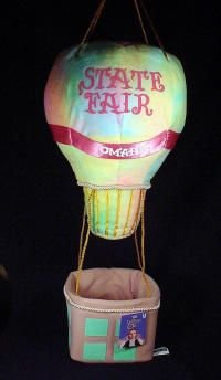 Warner Brothers Wizard of Oz State Fair Balloon Plush Bean Bag