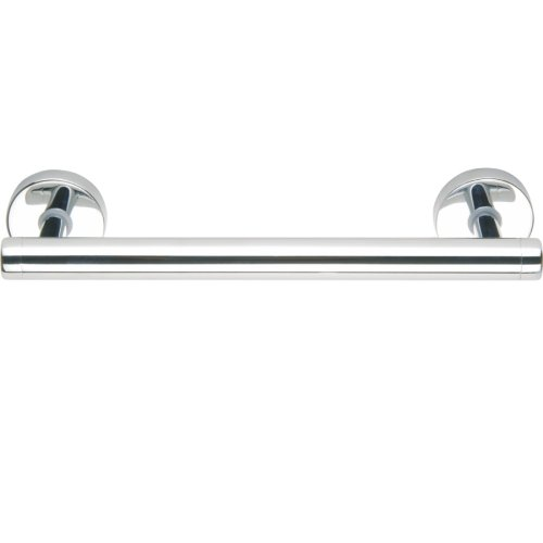 (No Drilling Required Draad Premium Solid Brass Euro Grab Bar/Shower Door Handle in Chrome)