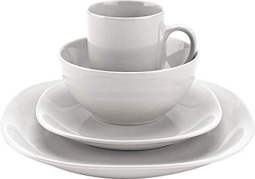 Quadro 16 Piece Dinnerware Sets - Thomson Pottery 16-pc. White Quadro Set One Size White