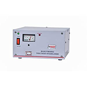 DACHI 0.5 KVA Automatic Voltage Stabilizer for Single/Double Door Refrigerator Upto 350 LTR. / Air Cooler/Computer from…