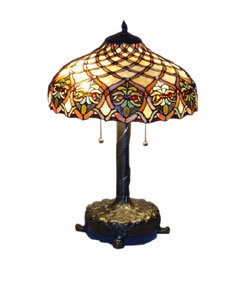 tiffany style baroque table lamp. Black Bedroom Furniture Sets. Home Design Ideas