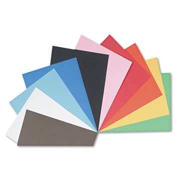 Pacon 103127 - Tru-Ray Construction Paper, 76 lbs., 24 x 36, Assorted, 50 Sheets/Pack