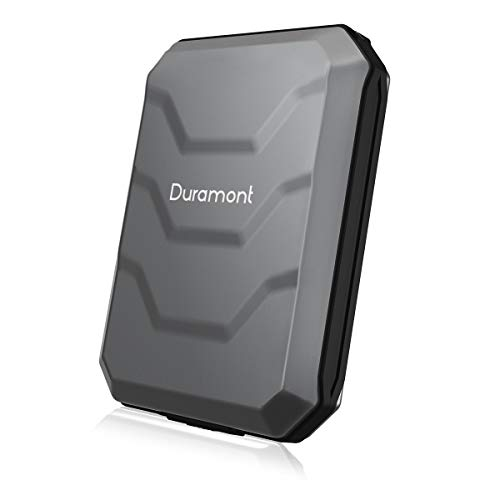 Duramont Aluminum Wallet Credit Card Holder With RFID Blocking Protection - Holds 10 Cards and Cash