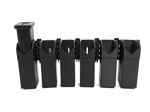 MCE Digital Armory eAMP Patriot - Glock (17, 19, 22, 23, 26, 31, 35, 37) Six Mag Pouch - MagP0051-F