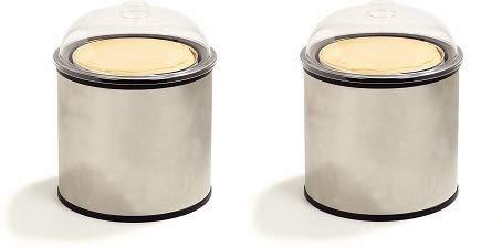 (Carlisle 38655 Coldmaster Ice Cream Shroud Only, Stainless Steel (2-(Pack)))
