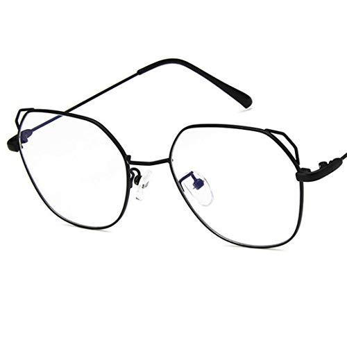 Clear Glasses Cat Ear Gold Frame Unisex Optical Aviation Eyeglasses Transparent Clear Eyewear De Grau 001