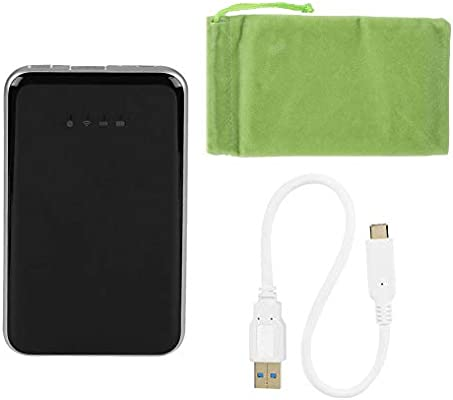 Zerone portátil Multifuncional Externo SSD, WiFi Transmisor Power ...