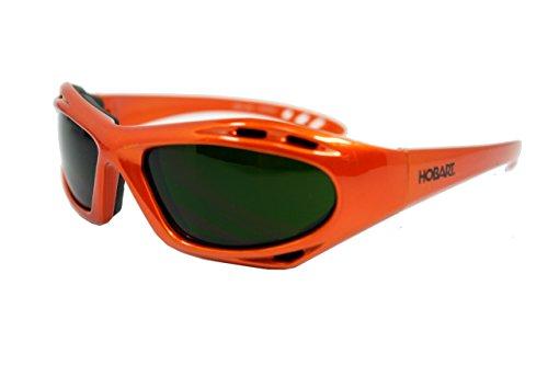 Orange Glass Shade - Hobart 770727 Shade 5 Lens Safety Glasses
