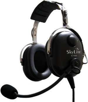 SkyLite SL-900 Aviation Headset from SkyLite