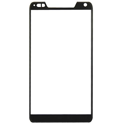 LIUJUN Phone Accessiories Front Screen Outer Glass Lens for Motorola Droid RAZR M / XT907(Black) Spare Parts (Color : Black) (Speaker Razr Droid M Ear)