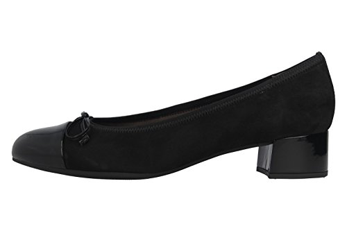 Gabor Women's 85.461.17 Court Shoes Black RI3XDAb8E