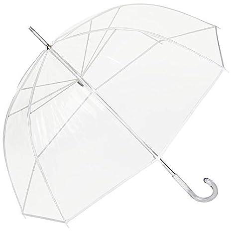 VON LILIENFELD/® Parapluie Transparent translucide Femme Homme Melina Blanc
