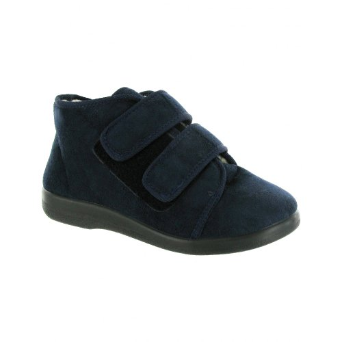 Fit Mens Torbay GBS Wide Navy Med Extra Unisex Womens Slipper Cpq0t