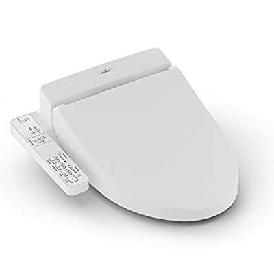 TOTO SW2014#01 A100 WASHLET Electronic Bidet Toilet Seat with SoftClose Lid, Elongated, Cotton White