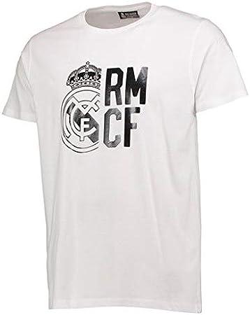 Camsieta Algodon Real Madrid nº3 Tallaje Adulto (S): Amazon.es ...