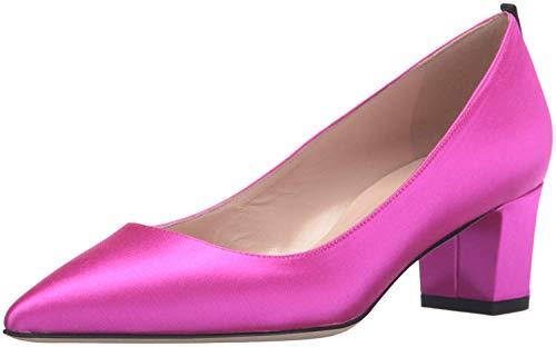 SJP by Sarah Jessica Parker Women's Katrina Pointed Cap Toe Block Heel Candy 38.5 EU/8 M US