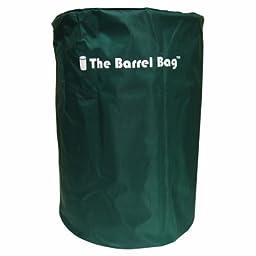 The Barrel Bag WB-383 \'\'The Barrel Bag\'\' 55-Gallon Drum Heavy Duty Cover Green