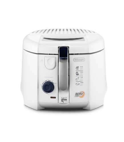 Delonghi F28311 1800W Non-USA Compliant Deep Fryer, 1Kg, White