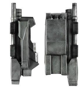 Iron Man War Machine Costume Mens (War Machine Rocket Gauntlets,Length 12.5
