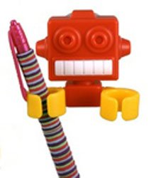 Robot Clips - Toothbrush, Pencil and Pen Holder