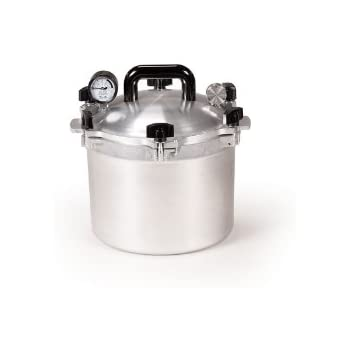 All American 10-1/2-Quart Pressure Cooker Canner