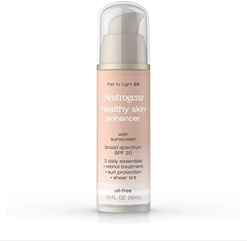 Neutrogena Healthy Skin Enhancer, Broad Spectrum Spf 20 , Fair To Light 20, 1 Oz. (Pack of 2)