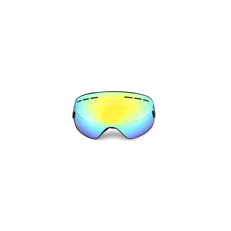 He yanjing Ski Goggles , Anti Fog UV Protection Skiing Goggles ,Snowboard Goggles ,Ski Snowboarding Goggles for Men Women Youth
