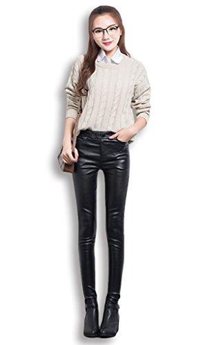 Lixmee - Pantalón - para mujer negro