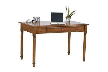 OSP Designs Knob Hill Collection Desk, Antique Cherry Finish - Amazon.com: OSP Designs Knob Hill Collection Desk, Antique Cherry
