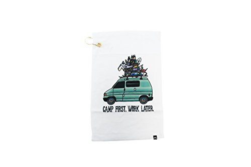 GoWesty Camp First, Work Later Eurovan Tea Towel