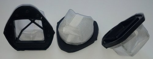 3 Shark VX33 Replacement Vacuum Filters for Shark SV769 Cordless Hand Vacuums, Part XF769.