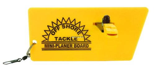Off Shore Tackle Reversible Mini Planer Board (OR-34), Outdoor Stuffs