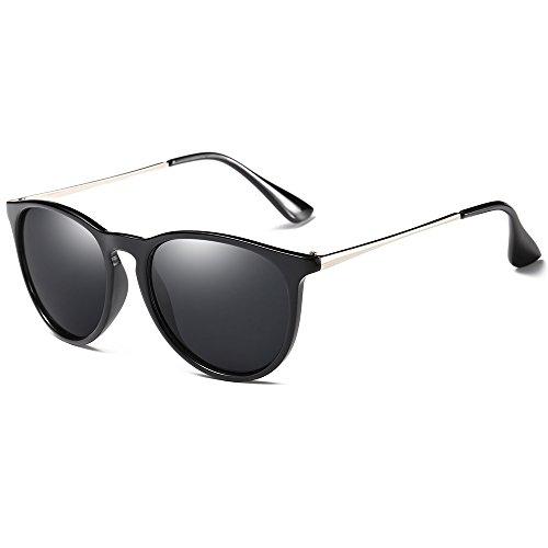 Morpho Diana MS4171 Women's Erika Polarized Sunglasses (black, - Erika Glasses