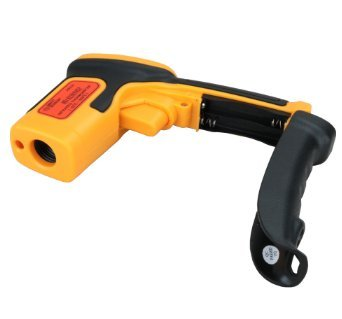MeterTo Digital Infrared Thermometer Pyrometer, -32 °C to 550 °C (-26 to 1022 °F), 12:1