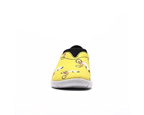 Cycliste Loafer Petit Chaussure Mouton enfant Animaux De Uin Jaune Des ROaZnF7